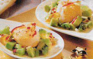 Jakobsmuscheln Avocado