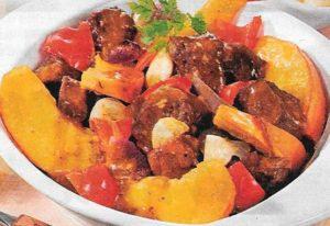 Lammragout Paprika