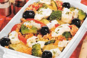 Couscous Oliven
