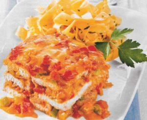 Paprika Schnitzel Lasagne