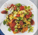 Chorizo-Rosenkohl-Pfanne