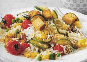 Bunter Gemüsereis