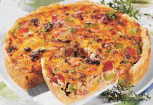 Pizzakuchen mit Hackfleisch