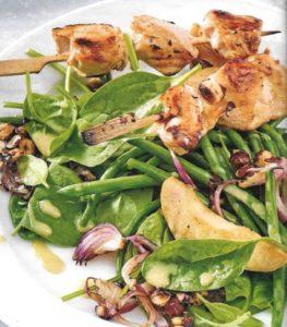 Salat mit Brechbohnen