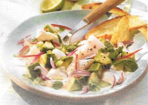 Ceviche mit Avocados