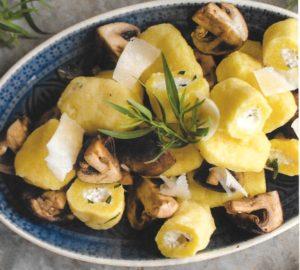 Gefüllte Gnocchi mit Käse