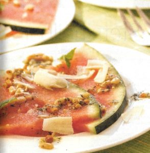 Melonencarpaccio