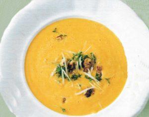 Käse-Kresse-Suppe