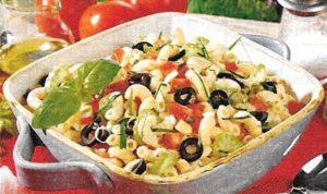 Nudelsalat sizilianischer Art