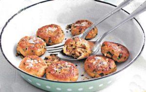 Thunfisch Frikadellen mit Kaperndip
