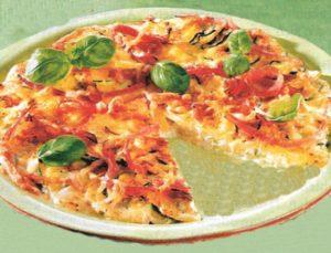 Tortilla mit Spargel und Kartoffeln