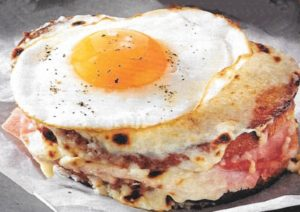 Croque Madame-Sandwich