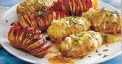 Gorgonzola und Chorizo Kartoffeln